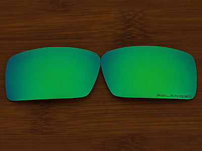 Replacement Emerald Green Polarized Lenses for Gascan S (Small) Sunglasses