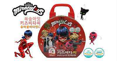 Miraculous Ladybug Kids Bag + Vitamin C Fun Play Toy Animation Gift Collection