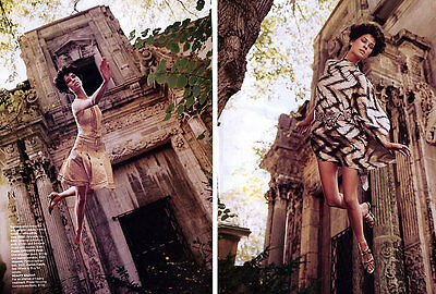 "2002 Melvin Sokolsky Erin Wasson magazine editorial ""Milan Collections"""