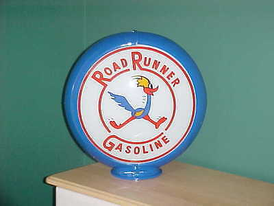 Roadrunner Gasoline Gas Pump Globe