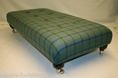 Designer Bespoke Large Footstool - 100% Pure Wool - 5 Designs Available