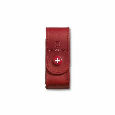 4.0520.1 VICTORINOX SWISS ARMY KNIFE LEATHER POUCH COVER CASE for 91/93 mm knive