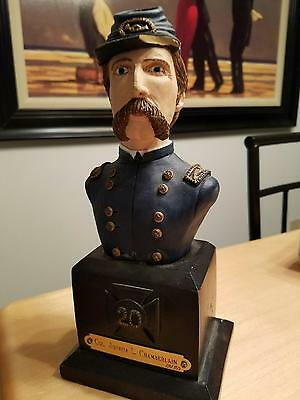General Joshua Lawrence Chamberlain Bust by Randy Groves (Acceptable condition)
