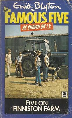 The Famous Five #18 - Five on Finniston Farm by Enid Blyton - P/Back - S/Hand