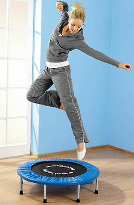 38in Mini Trampoline with 8 Legs B-Square   Rebounder England Home & Outdoor Gym