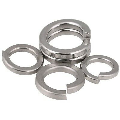 A2 304 Stainless Steel Split Lock Washers Spring Washers All Size From M1.6-M24