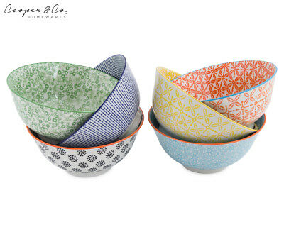 Cooper & Co. 15.5cm New Urban Trend 6-Piece Bowl Set - Multi