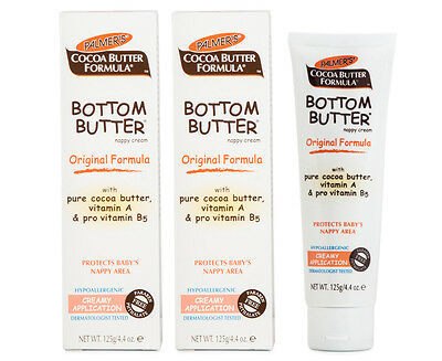 2 x Palmer's Cocoa Butter Bottom Nappy Ointment 125g