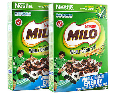 2 x Milo Cereal 350g