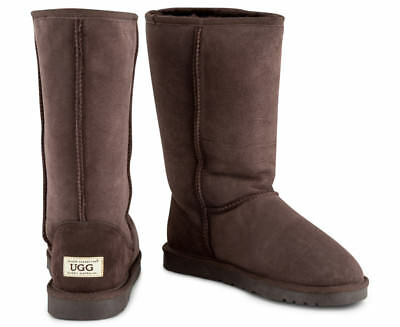 OZWEAR Connection Classic Long Ugg Boot - Chocolate
