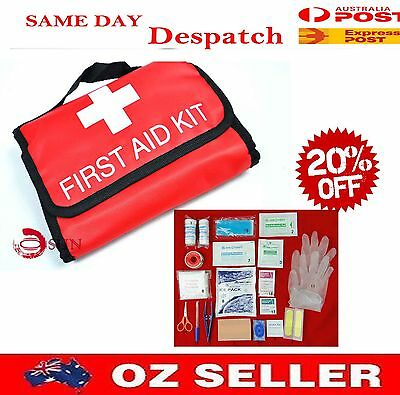 New Large Emergency First Aid Kit Suit Hiking Portable Traveling Camping Car