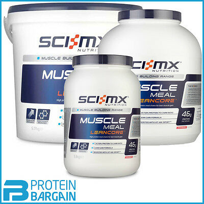 Sci-MX Nutrition Muscle Meal Leancore Lean Muscle Gain ALL FLAVOURS & SIZES!!