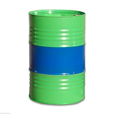 Green/blue metal Tighthead Drum, 216 L, UN approved, Twin L Ring (23014)