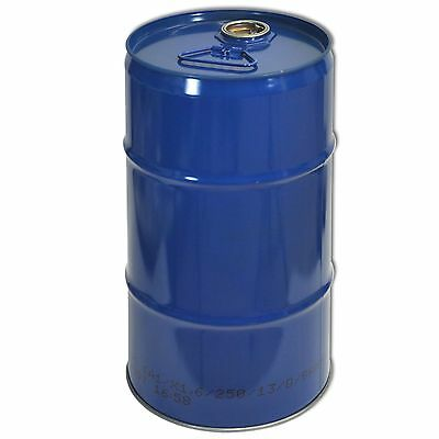 Blue metal Tighthead Drum, 30 L, UN approved, Twin L Ring (23028)