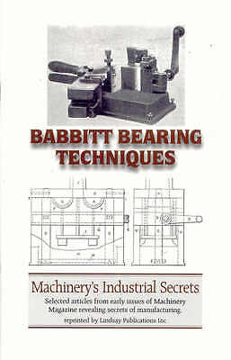 Babbitt Bearing Techniques (White metal bearings)