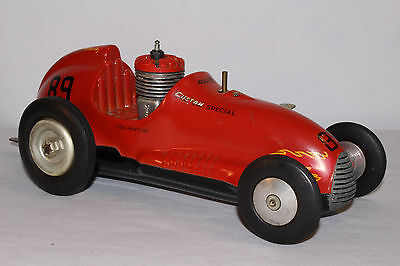 REAL McCOY Tether Car - Late 1940's or Early 1950's Midget Race Car, Original