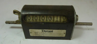Durant Instruments 6-H-81-R-GL Rotary Counter  USED