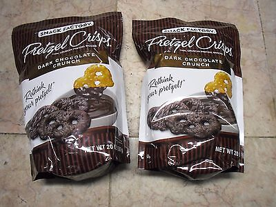 2X16 oz Rex's Outrageous Road Crew Crunch Milk Chocolate Peanuts Cereal Pretzels