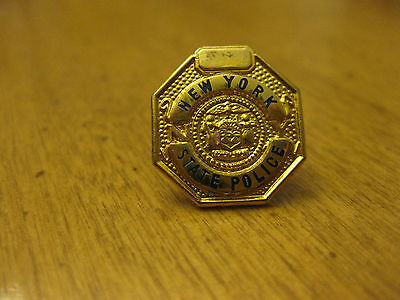 New York State Police  Pin Back