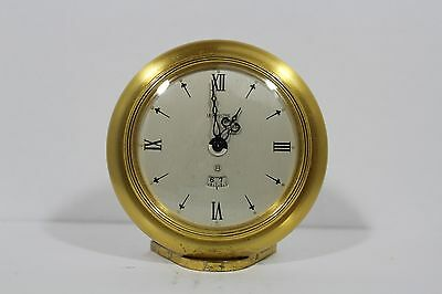 Vintage Swiss LeCoultre Recital 8Day Alarm Clock