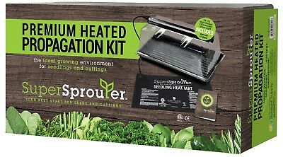 Super Sprouter Complete Premium Propagation Kit With T5 Light SAVE W/ BAY HYDRO