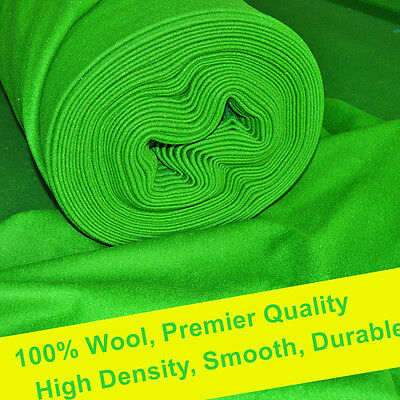 Tournament Quality High Density Smooth Durable Woolen Snooker Table Cloth