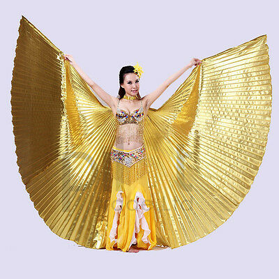Adult Child Egyptian Isis Wings Belly Dance Dancing Costume Vegas Isis Wing Show