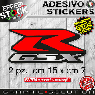 Adesivi / Stickers Kit SUZUKI GSX R 600 750 1000 K FLUO CROMO TOP QUALITY !!