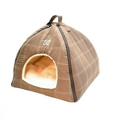 Rp300 Categorie Niches chat : Tipi Polo 43 x 43 x 38 cm Cafe