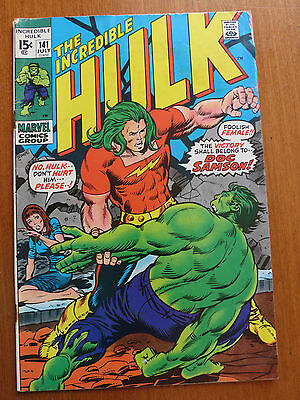Incredible Hulk #141 (Jul 1971, Marvel)VG/FN