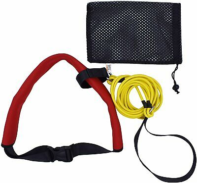 Swim Bungee Training Belt Swim Resistance Leash Exerciser Belt Swim Tether