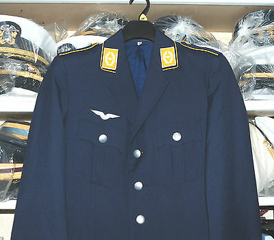 German Air Force Officers Parade Jacket With Insignia (C)