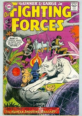 Our Fighting Forces #91 April 1965 G/VG