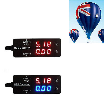 Detector LED Voltage Tester USB Power Charger Doctor Monitor Meter For Phone