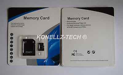 128GB Universal Micro SD HC Flash Memory Card With TF Free Adapter Class 10