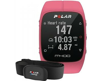 Polar M400 HR Rose