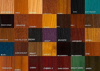 Water Based  Wood Dye 56 Colours Woodworking  200ml or  Finishing Oil 450ml