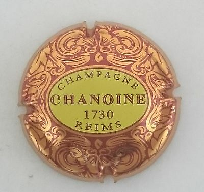 capsule champagne CHAMOINE n°3 lettres marrons