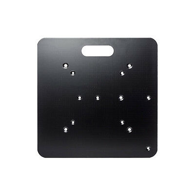 Global Truss - Universal Base Plte - 450 mm (Black) [] Truss