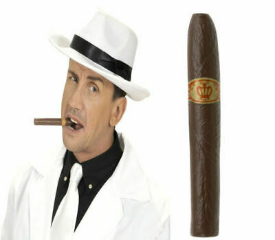 Fake Cigar Gangster Mexican Pimp Fancy Dress Costume Accessory Prop
