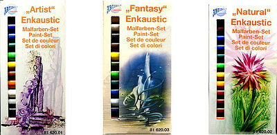Enkaustic Malfarben Set Fantasy Natural oder Artist Made in Germany