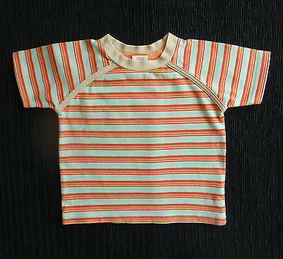 Baby clothes BOY GIRL 12-18m MiniMode quality short sleeve top red,orange,aqua..
