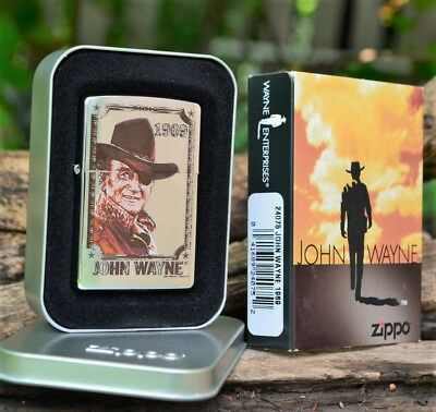 Zippo Lighter - John Wayne Collection - 1969 - Rooster Cogburn - True Grit 24075