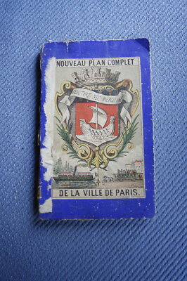 Plan De Paris 1886