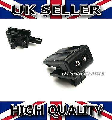 Front Windscreen Washer Jets Nozzle Water Spray Jet For Renault Megane Mk2