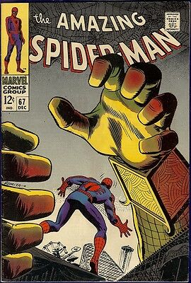 Amazing Spider-Man #67 - VF-