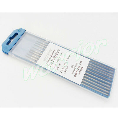 1.6mm/2.4mm*150mm WL20 TIG Welding Tungsten Electrode 2% Lanthanated Blue Tips