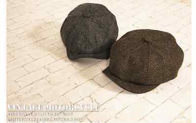 Vintage Retro Street Style Cycling / Motorcycle Riding Cotton Painter Cap Hat