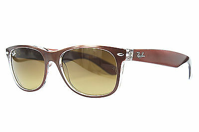 Ray Ban Sonnenbrille/Sunglasses RB2132 NEW WAYFARER 6145/85 55[]18 & Etui #*