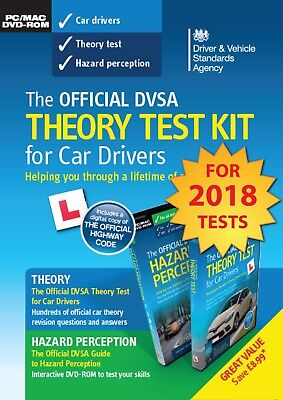 Theory Test Kit Official DVSA Complete for PC and Mac Revised version